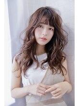アルマヘア(Alma hair)ナチュラルブラウン☆ロングレイヤー