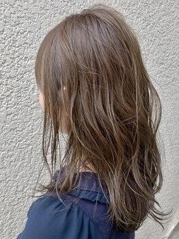 アッシュ ヘアーメイク 桐生(ash hair×make)の写真/ブラントカットからドライカットまで、髪質やクセに合わせたカットテクニックで似合わせヘアに★【桐生】