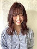 ジル ヘアデザイン ナンバ(JILL Hair Design NAMBA)JILL/ピンクベージュ/透明感カラー
