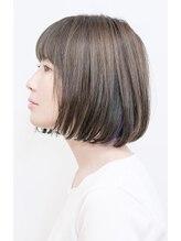 ルーシー ヘアデザインワークス(Lucy Hair Design Works)丸みショート×ボブ