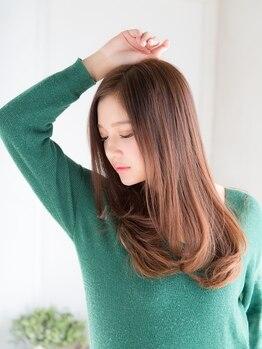 """ココノサロン ハナレ(cocono salon HANARE)の写真/《北千住個室サロン》理想の髪質に♪大人気の""""TOKIO¥0""""に加え、話題のサブリミック髪質改善""""酸熱""""が75%OFF"""