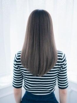 ヘアラウンジ(Hair Lounge By BE AREA)の写真/ウネリ、広がりなど髪のお悩みを自然なモテストレートで解決☆『可愛い&なりたい』を叶える人気メニュー◎