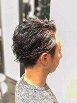 オムヘアーツー (HOMME HAIR 2)大人用キレイ目アップバング・ツーブロック・Hommehair2nd櫻井