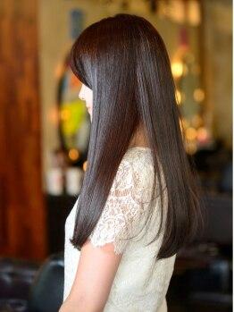パラン 田無店(PaLaN)の写真/丁寧なカウンセリングをもとにアナタのなりたい髪に!いつまでも綺麗な髪、艶やかなまとまりスタイルに♪