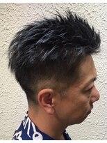 ヘアーメイクサロンアカイシ(hairmake salon AKAISHI)<クール!>2ブロックショート