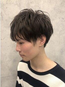 ツミキ ヘアーデザイン(TSUMIKI hair design)の写真/【1周年!メンズカット+眉カットorスパSP¥5000】スタイリングがしやすくカッコイイ!毎日のセットも簡単!