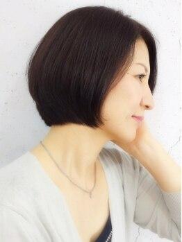 ナポカヘアー(napoca.HAIR)の写真/ざっくりしたオーダーでもOK!!希望を叶えるのはモチロン、その人の魅力を更に引き出すスタイル提案♪