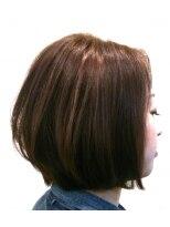 ヘア デザイン クリニック アンテナ(hair design clinic ANTENNA)大人のフェミニンボブ