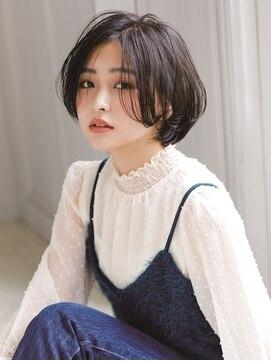 アグヘアー マーク 酒田下安店(Agu hair marc)ツヤ髪ブルーで潤いインディゴブルー