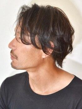 ノーマルヘアー(NORML HAIR)の写真/【金沢駅近く】メンズのお客様が多いため、男性一人でも来店しやすいと好評★モテ男に変身しましょう!