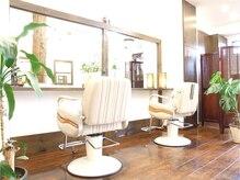ヘアリゾート アジア(Hair Resort Asia)の雰囲気(お二人でご来店されたらペア席あり♪お子様連れもカップルもOK♪)
