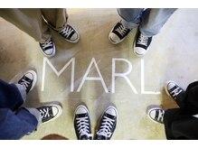 マール(MARL)の雰囲気(入ったらすぐにある撮影スポット『MARL』のロゴ)