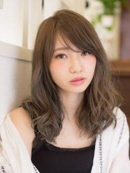 ヘアジーナ(Hair Jina)の写真/やわらかい質感・毛先の動きを緻密に計算した大人のパーマを提案☆朝のスタイリングを簡単かつおしゃれに♪
