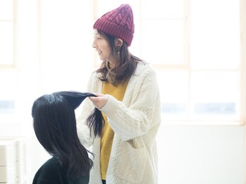 リト(Lit)の写真/ダメージレスを追求したサロン♪一人一人とじっくり向き合いながら丁寧に施術し、誰もが憧れる艶髪に改善!
