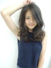 ブルース(blues)☆blues☆外国人風ニュアンスパーマ☆スモーキーグレージュ