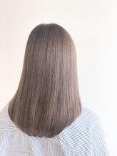 ポロン(polon)【髪質改善】シルクグレージュストレート