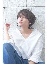 ニコ 吉祥寺(nico...)☆nico☆モダンショート♪【女性Stylist担当】《メルトカラー》