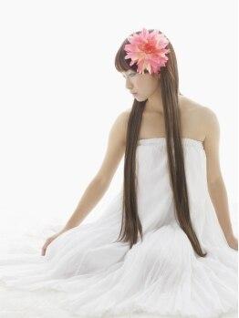 フラワー(Flower)の写真/【美しく健康な髪へ】頭皮環境を整えながら泡を利用したアロマ香るトリートメントで身も心も本格的ケア♪