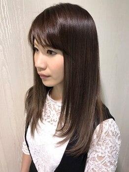 ルアナ ヘアーメイク(LUANA Hair Make)の写真/<ナチュラル仕上げorしっかりクセ伸ばし>幅広い仕上がりに対応◎カウンセリング×高技術でサラツヤ美髪に★