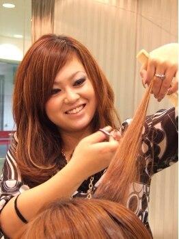 ガイア ヘア(gaia hair)の写真/似合わせセンス◎な女性Stylistが希望を叶えてくれる★簡単にイメチェンできるメニューもご用意☆