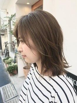 アルジス(aruJisu)の写真/【aruJisu】オリジナル★シフォンベールトリートメントが◎ふんわり柔らかで触りたくなる女性らしい質感に!