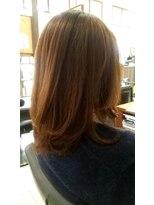 オッジヘアー(Oggi Hair)ナチュラルロブヘアー