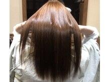 アンドヘア(and hair)の雰囲気(美髪技術で縮毛矯正も自然なツヤ感◎)