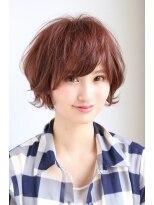 ギフト ヘアー サロン(gift hair salon)ツヤカラーと外ハネショートボブ (熊本・通町筋・上通り)
