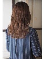 リタへアーズ(RITA Hairs)[RITA Hairs]アッシュグレーxラフ巻きmix♪お客様style