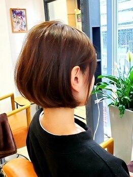 グリブ(GRIVE)の写真/【上乃裏】髪質の悩みもお任せください☆細部まで丁寧な技術で『似合わせ』Styleを叶えてくれるGRIVE♪