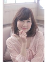 エイミーバイアフロート(amie by afloat)伸ばしかけOK☆大人可愛いふんわりカールボブ☆