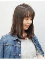 エイム ヘアメイク 横川店(eim HAIR MAKE)eim で叶える♪ふんわり柔らか☆natural ストレート