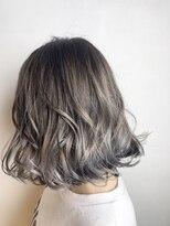 フレア ヘア サロン(FLEAR hair salon)シンプルボブ&ハイライトカラー