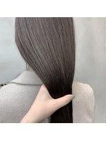 美髪ロングヘア
