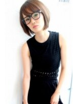 Rumor×大人女子の美シルエット『ナチュラルショートボブ』