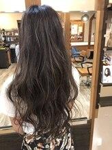 ヘアサロンアコール(Hair Salon acoord)外国人風3Dハイライトカラー