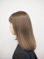 ティルヘアー(TiLL HAIR)ミルクティーベージュ 透明感 赤みゼロカラー