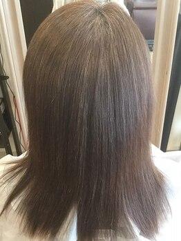 ヘアサロン ハリコット(Hair Salon Haricot)の写真/【新導入◇髪質改善/酸熱トリートメント】カラー・パーマ・縮毛矯正などのダメージがある方必見!