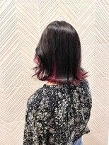トキオプラチナ(TOKIO Platinum)グレーブラック×カシスピンク