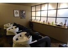 ヘアー デザイン ソラ(hair design SORA)の雰囲気(シャンプースペースは半個室となっており全台YUME完備♪)