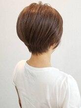 ヘアースリール 長岡京店(hair Sourire)ショートカット×ブラウンカラー×ミセス×長岡京スリール