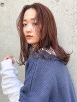 エイチスタンド 渋谷(H.STAND)[H.STAND 渋谷]大人かわいい/レア髪ミディ/フォギーベージュ