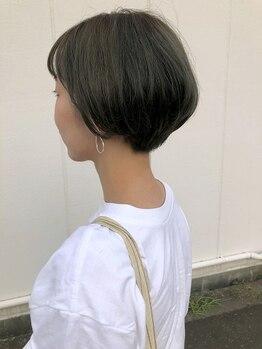 センシュアスヘアデザイン(Sensuous Hair Design)の写真/褒められカットで『小顔』×『旬顔』に☆人気の秘訣はしっかりまとまって、可愛くスタイリングできるから♪