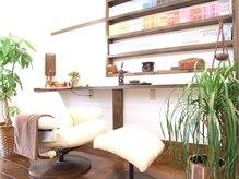 ヘアリゾート アジア(Hair Resort Asia)の雰囲気(ヘッドリラクゼーションは半個室空間のココで施術してくれます♪)