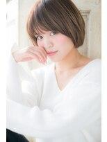 モッズ ヘア 福岡姪浜店(mod's hair)自然体の魅力♪万能ショートボブ
