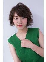 【shiomi H】スウィングカールショートボブ