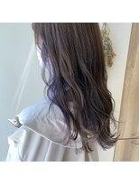 ジャム(Jam)【jam藤崎】色素薄め紫インナー*。