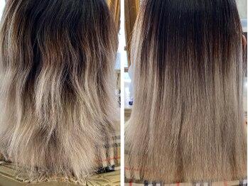 ミルシー(millci)の写真/他店で断られるようなブリーチ/ダメージ毛OK!TOPクラスの施術数/実績のmillciの美髪整形矯正をしませんか?