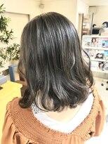 ヘアアンドメイクフリッシュ(HAIR&MAKE FRISCH)グレージュボブ