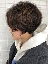 オーシャン ヘアアンドライフ(OCEAN Hair&Life)[OCEAN Hair&Life]丸みショート×デジタルパーマ☆